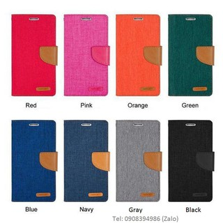 Bao da iPhone 7/ iPhone 8 Mercury Canvas Diary chính hãng