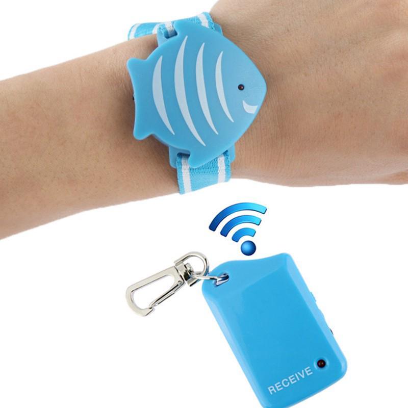 Anti-lost Burglar Alarm Security Finder Vibrating Alarm Wireless Electric Personal GPS Tracker