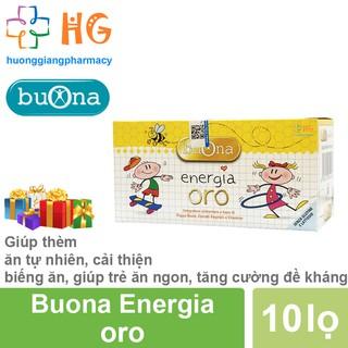 [Kèm Quà Tặng] Energia oro - Giúp thèm ăn tự nhiên, cải thiện chứng biếng ăn, giúp trẻ ăn ngon, hồi phục sức khỏe thumbnail