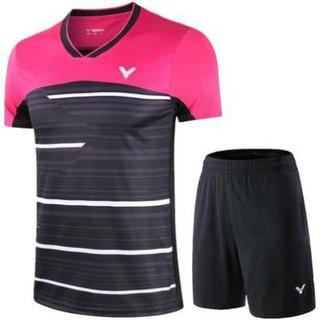 sale 1 Bộ quần áo cầu lông chiến thắng, áo nam nữ, áo khoác đội tuyển quốc gia Đan Mạch tùy chỉnh new sale 2