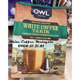 Cà Phê Trắng Đường Dừa OWL WHITE COFFEE TARIK - COCONUT ...