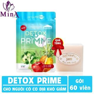 Primme Detox - Viên uống khử mỡ giảm cân rau xanh 60 viên ( Hàng chính hãng 100% ) thumbnail