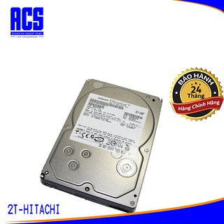 Ổ Cứng Chuyên dụng HDD HITACHI 2TB - Chính hãng - BH 2 năm - 1 đổi 1 thumbnail