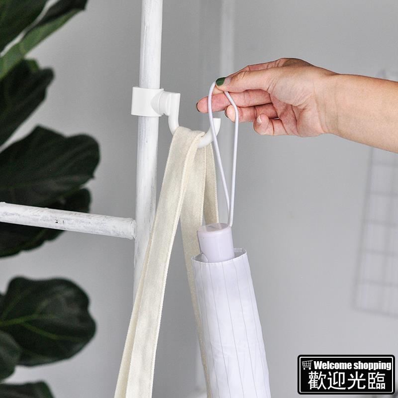 Tại chỗ có thể được bán buônMóc tiện lợi Nhật Bản Móc tròn Ống cố định Móc không đánh dấu Móc miễn phí Sử dụng toàn bộ k