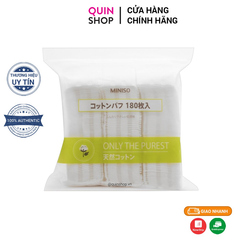 Bông Tẩy Trang Miniso Only The Purest