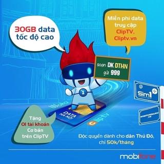 Sim 4G [Mobifone IPHN2, DTHN] MAX KHÔNG GIỚI HẠN DUNG LƯỢNG DATA DÙNG TOÀN QUỐC
