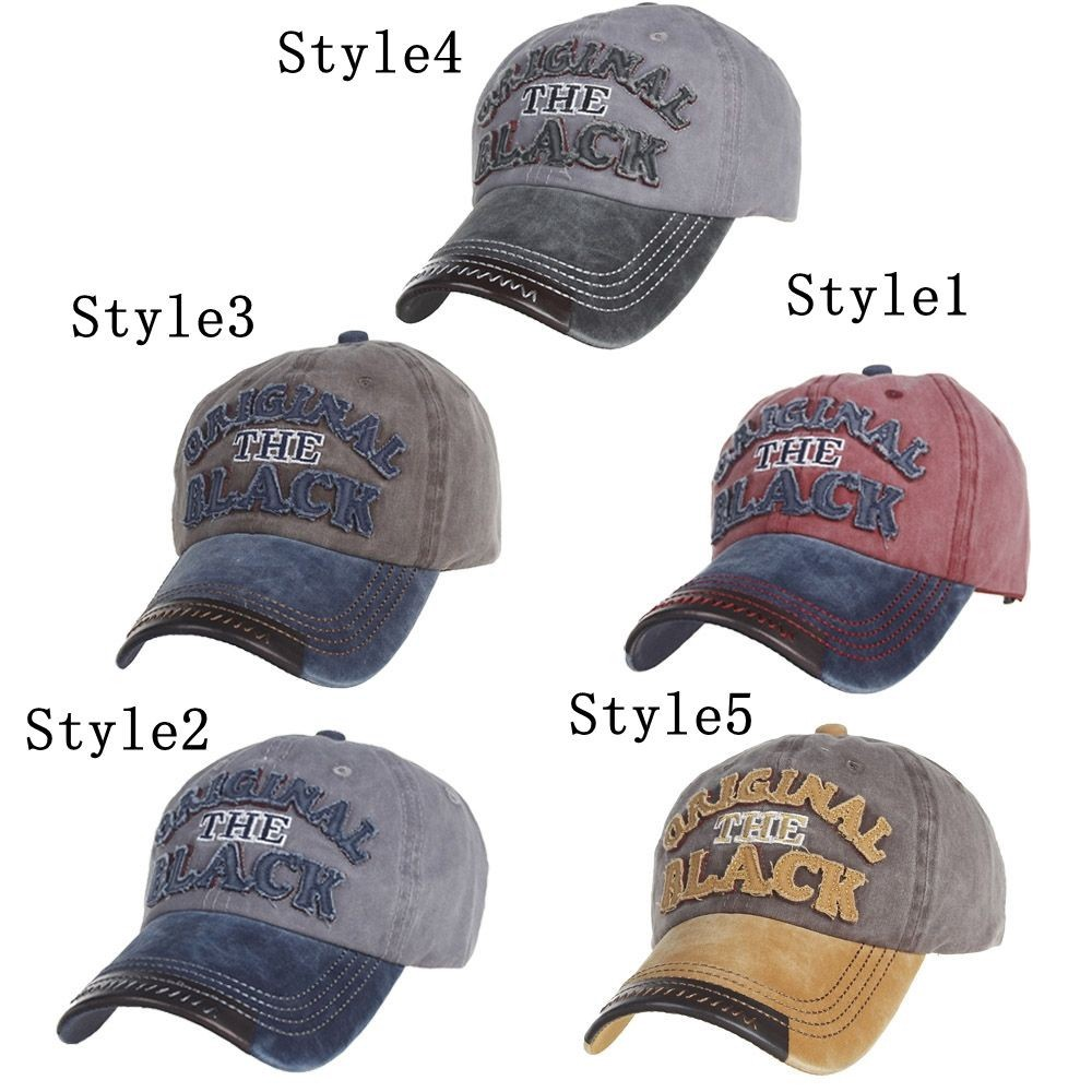 Caps embroidered with Hiphop style