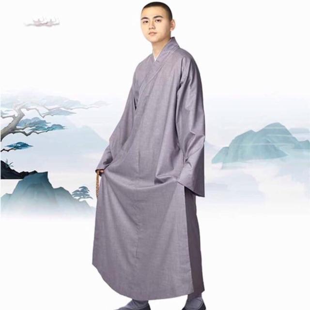 Áo trường sam - Bộ La Hán - Bộ Lãnh Tụ Ghi Xám