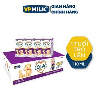 [GIAN HÀNG CHÍNH HÃNG] Sữa Pha Sẵn IQLac Pro Biếng Ăn, Suy Dinh Dưỡng Premium VPMilk Thùng 48 Hộp 110ml