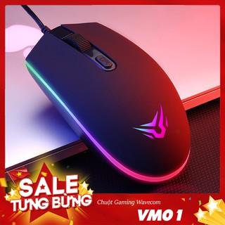 Chuột Gaming Wavecom VM01 Black – White Siêu Bền ( Hàng Chính Hãng )