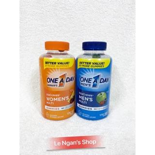 [Hàng Mỹ bay air có Bill] Viên kẹo Vitamin One a day daily( One 1 day) 170 viên.