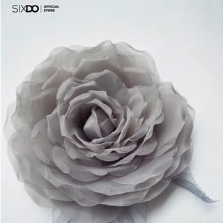Hoa cài SIXDO Grey Veli Flower 6AF077