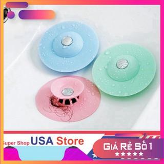 (3069) Chặn Rác Bồn Rửa Bát - Bồn Rửa Mặt - Bật Mở Thông Minh - Ngăn Mùi Bồn Tắm - Nắp Cống giá tốt nhất thumbnail
