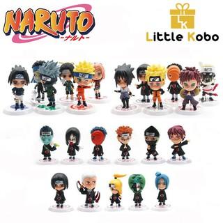 [Nhập mã TOYJUNE giảm 10K]Mô Hình Naruto Chibi Dễ Thương Mô Hình Trang Trí Máy Tính B