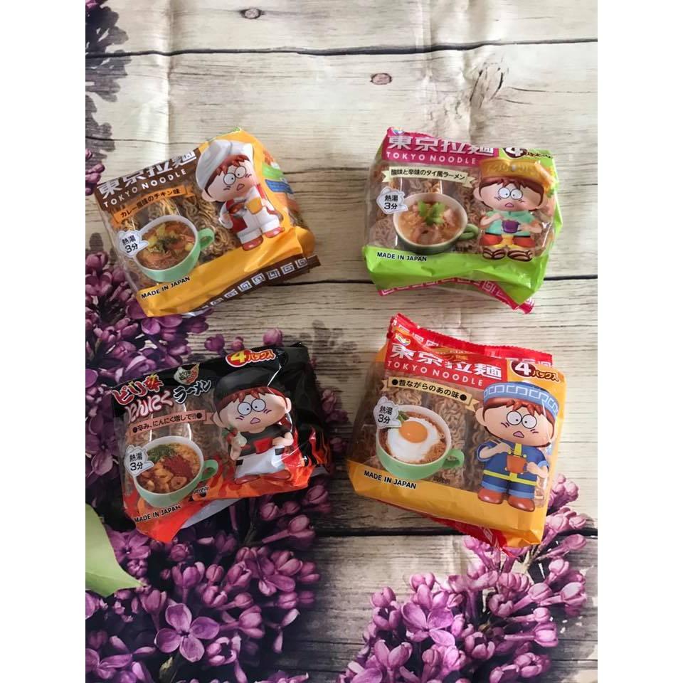 Mỳ Tokyo(4 gói *30 gr) cho trẻ từ 1 tuổi trở lên
