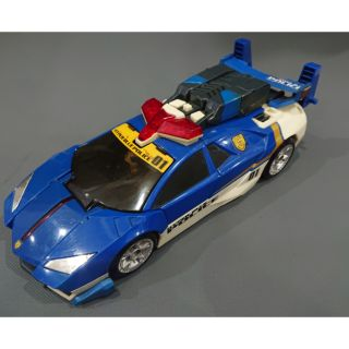 Mô hình xe Tomica hyper blue police 01 ( Super sonic runner ) Có âm thanh, 2nd