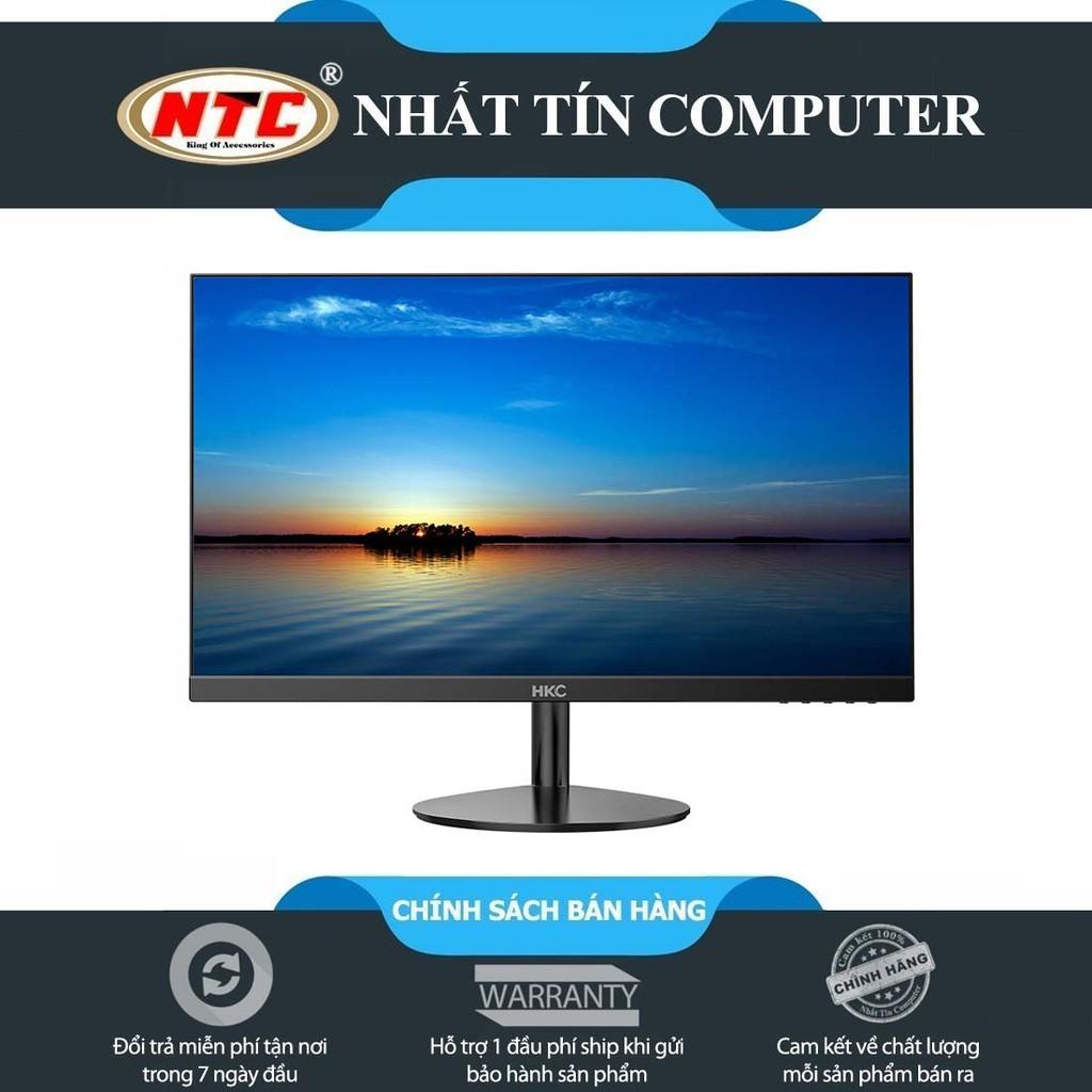 [Mã ELLAPDESK giảm 5% đơn 3TR] Màn hình máy tính HKC M24A6/M24B6 23.6'' FullHD LED - kết nối HDMI/VGA (Đen)