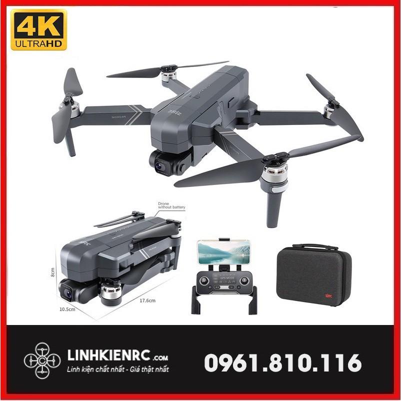 Máy Bay Flycam Cam SJRC F11S 4K - F11 PRO 4K - Camera 4K - Gimbal Chống Rung - Chính Hãng - Mới 2021