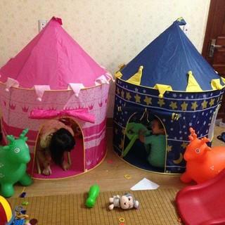 [Nhập TOYMAR giảm 10%]Lều hoàng tử công chúa hình dáng lâu đài cho bé