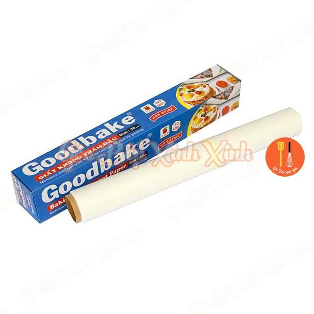 Giấy nến nướng bánh Goodbake chống dính khuôn 5m
