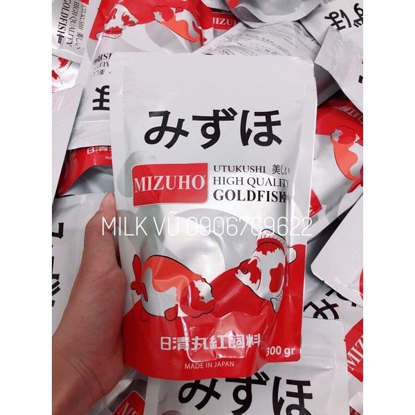 [Milk Vũ] Thức ăn cho cá - MIZUHO GOLDFISH FOOD - Sài Gòn (Mua 10 tặng 1 combo bio blue- bio orange- bio green)