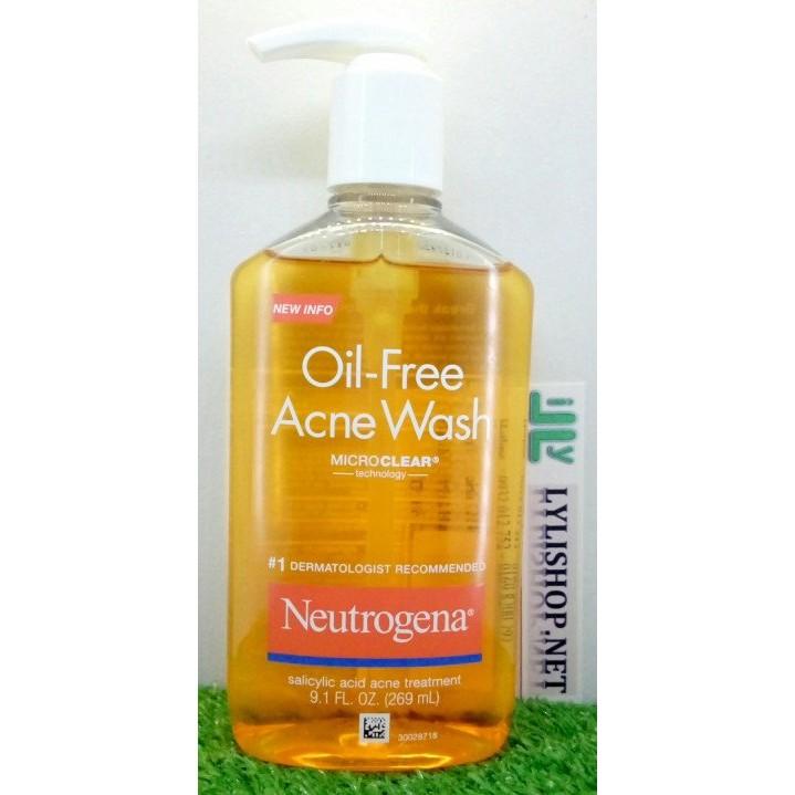 Sữa Rửa Mặt Neutrogena Oil Free Acne Wash 269ml từ Mỹ - 2956923 , 81362632 , 322_81362632 , 280000 , Sua-Rua-Mat-Neutrogena-Oil-Free-Acne-Wash-269ml-tu-My-322_81362632 , shopee.vn , Sữa Rửa Mặt Neutrogena Oil Free Acne Wash 269ml từ Mỹ