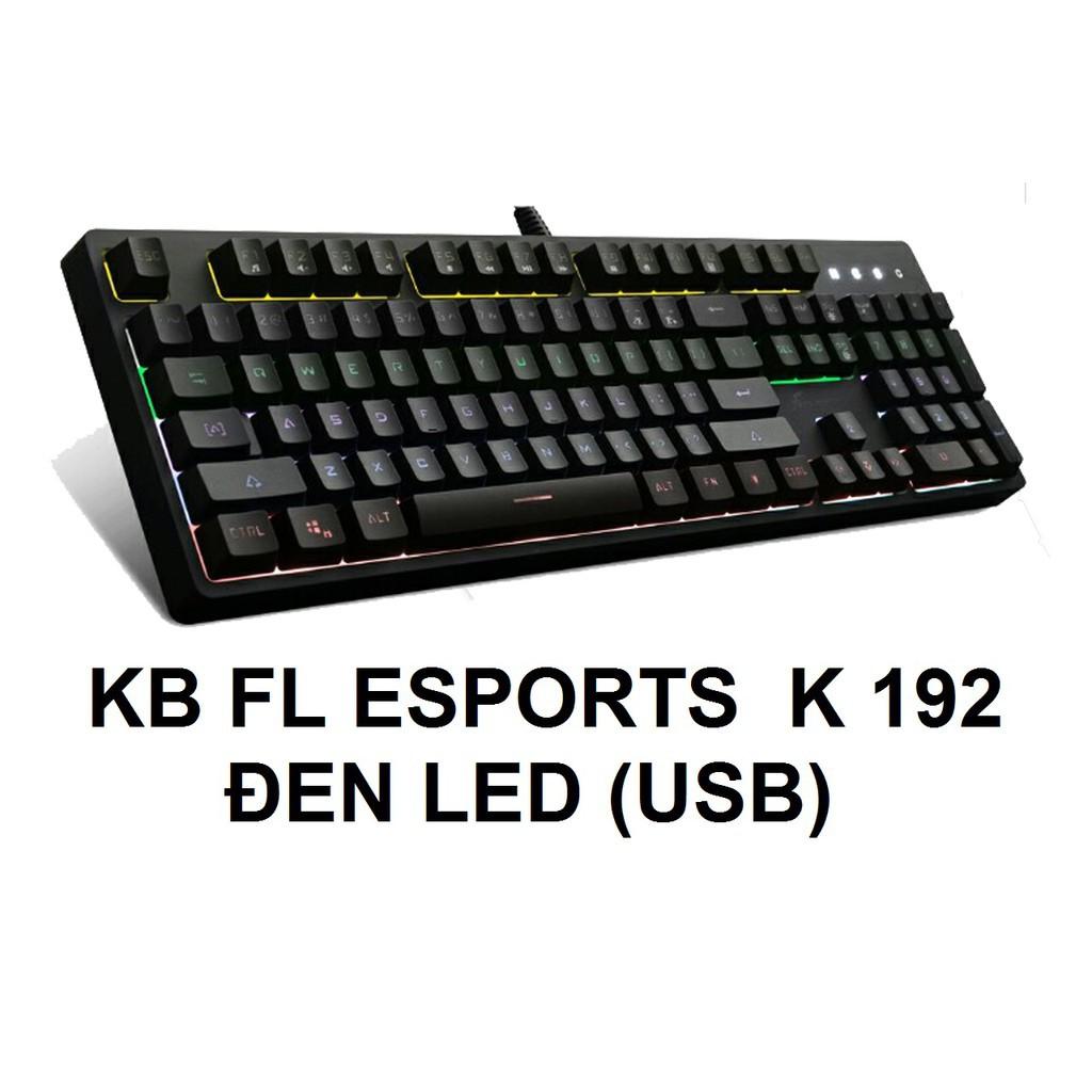 Bàn phím giả cơ chuyên game cao cấp FL-Esport K192