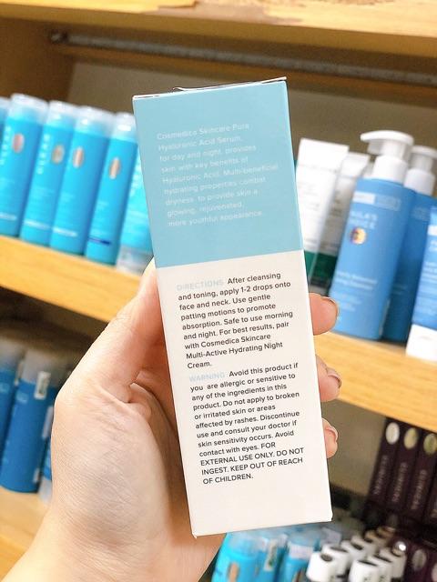 Tinh Chất Dưỡng Ẩm Cosmedica Pure Hyaluronic Acid Serum (60mL)