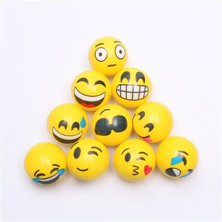 6.3cm Stress Ball Novetly Squeeze Ball Exercise Stress Ball PU Rubber Toy