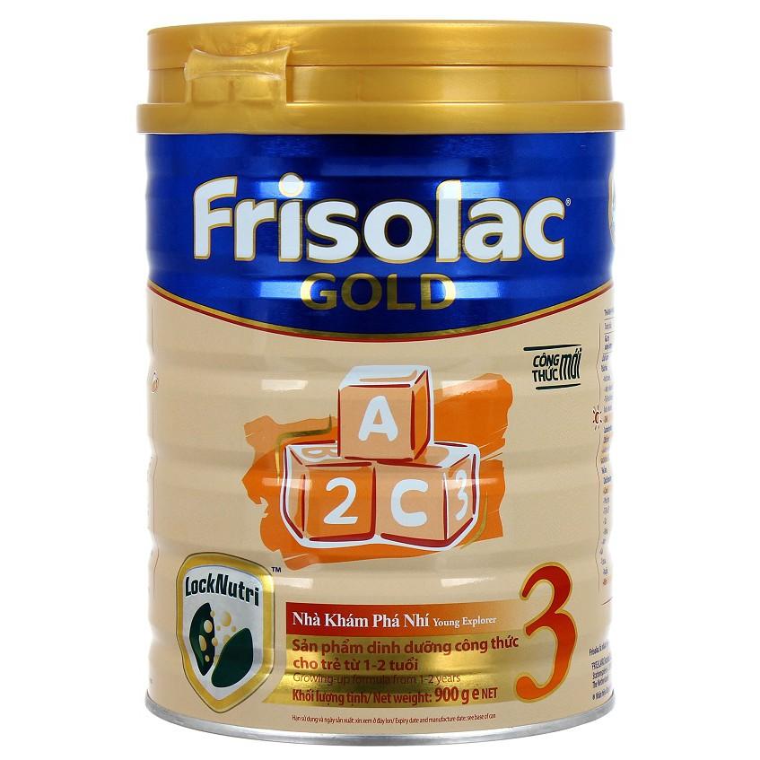 (Nhập TKBSHOP3 giảm 4% ) Sữa bột Friso Gold 3 900g