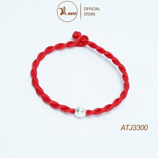 Vòng tay chỉ đỏ hạt bạc 925 ANTA Jewelry ATJ3300