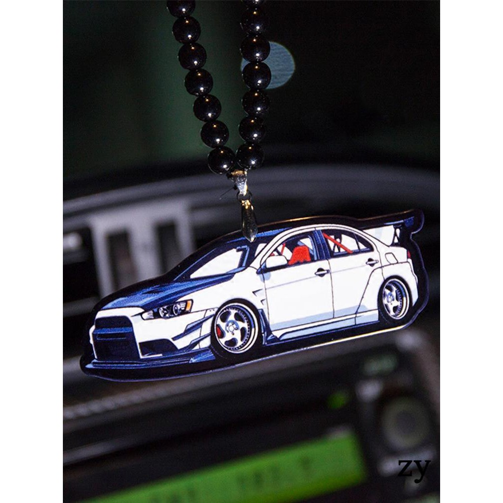 EVO wing God AE86 car rearview mirror pendant JDM car trend creative personality hellaflush car accessories