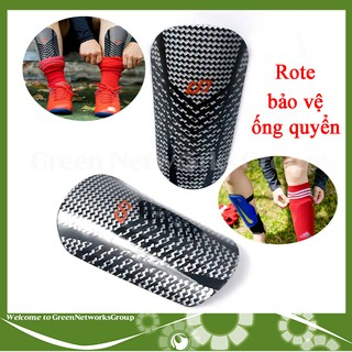 Rote bảo vệ ống quyển ống đồng vân Carbon CP SPORT Shin Guards (Made in Việt Nam) Greennetworks thumbnail