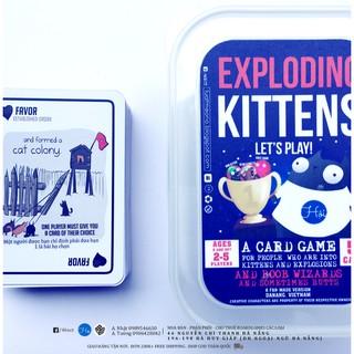 Bài Mèo Nổ – Exploding Kittens Board Game