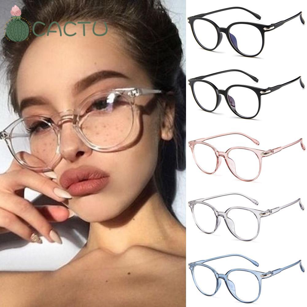 🌵CACTU🌵 Vision Care Ultralight Transparent Glasses Frame PC Frame&Resin Lens Flexible Portable Computer Glasses