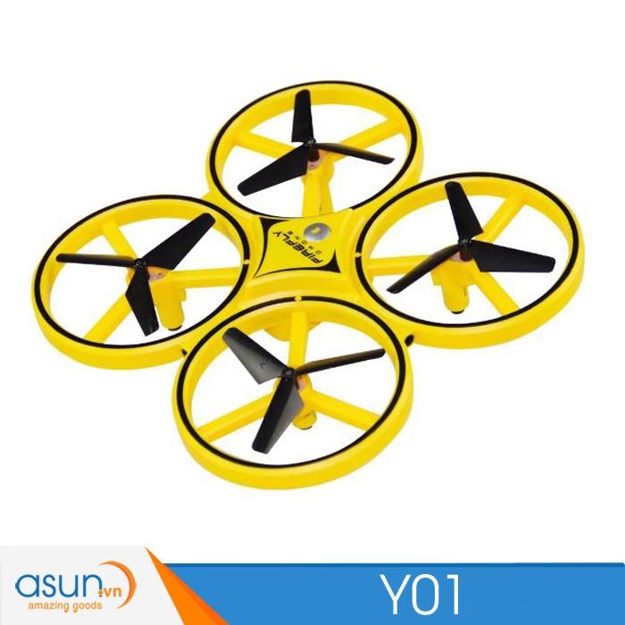 Máy Bay Drone Y01 Điều khiển cảm biến Y01Quad Hàng loại 1 Chất lượng cao và theo cử chỉ tay gía rẻ ZF04