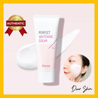 Kem dưỡng sáng da A'some Perfect Whitening Cream – Kem sáng da mặt, Che Khuyết Điểm, Nâng Tone