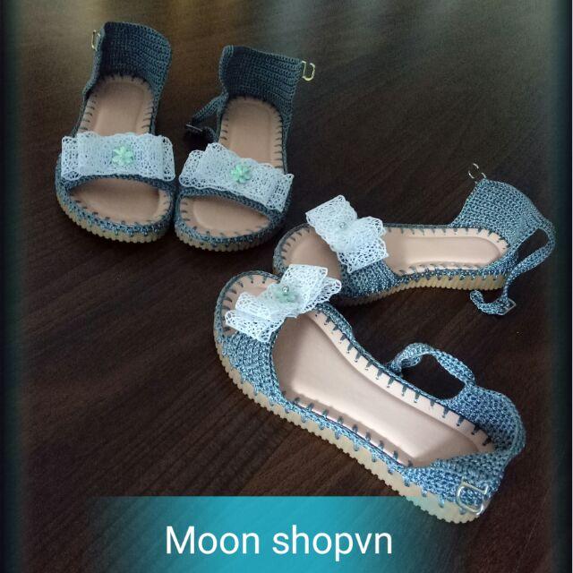 Giảm giá Sandal bé gai handmade còn 237,500đ