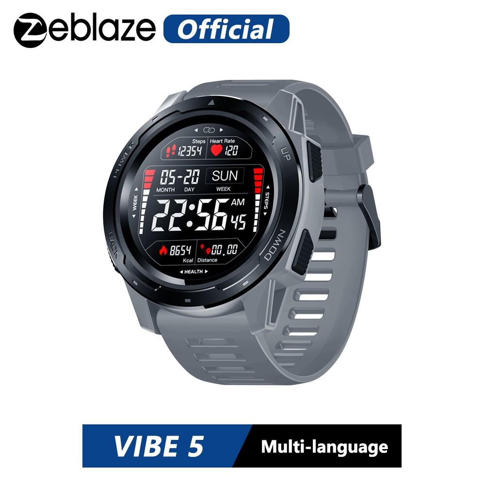Đồng Hồ Thông Minh Zeblaze Vibe 5 Chống Thấm Nước Kết Nối Bluetooth 4.0 Cho Ios & Android