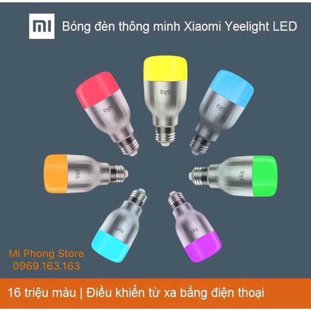 Bóng đèn Led Wifi thông minh Xiaomi yeelight 16 Triệu màu