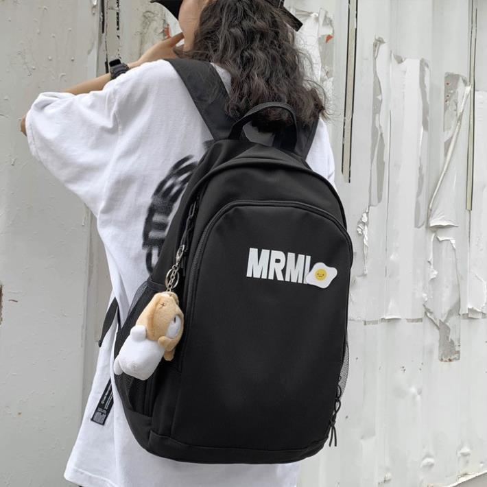 Balo nữ chống nước Hàn Quốc họa tiết trứng rán MRMI TX124