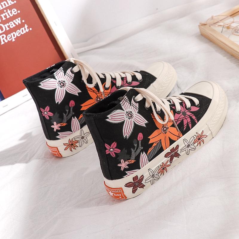 Giày thể thao cổ cao thời trang cho nữ
