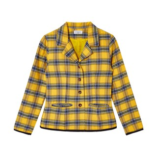 Usthebasic - Áo khoác ngoài blazer sọc caro Clueless Vest thumbnail