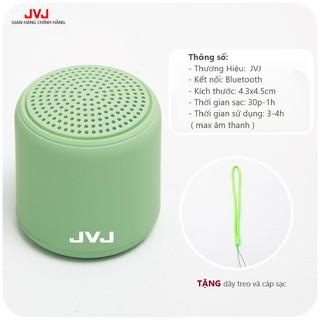 Loa di động Bluetooth JVJ Mini 3D BLT Không Dây - Âm Thanh Nổi Siêu Bass bỏ túi mang theo tiện lợi, Màu sắc yêu thích