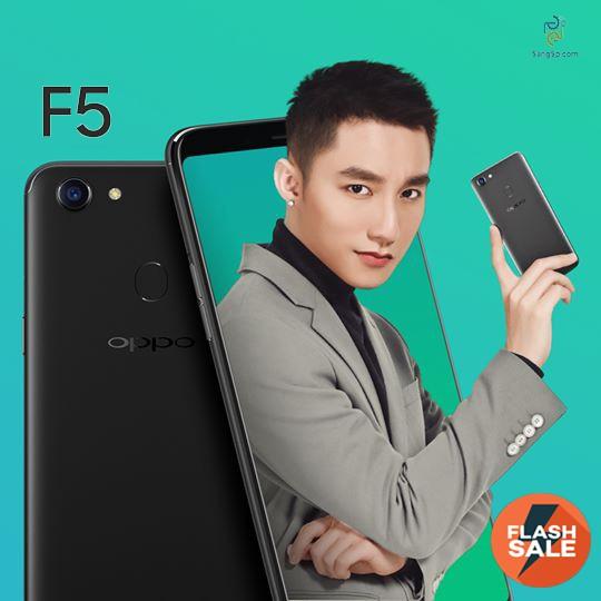 Điện thoại Oppo F5 32GB Ram 4GB Hàng Chính Hãng