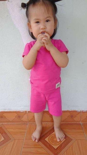 Combo 5 Bộ cộc tay cho bé mặc hè chất cực mát nhiều màu