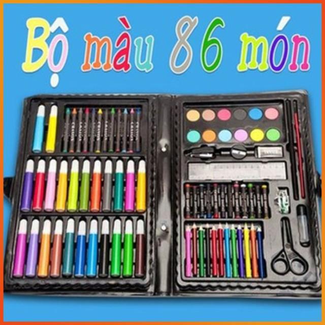 Bộ bút màu 86 món cho bé - [BÁN CHẠY]