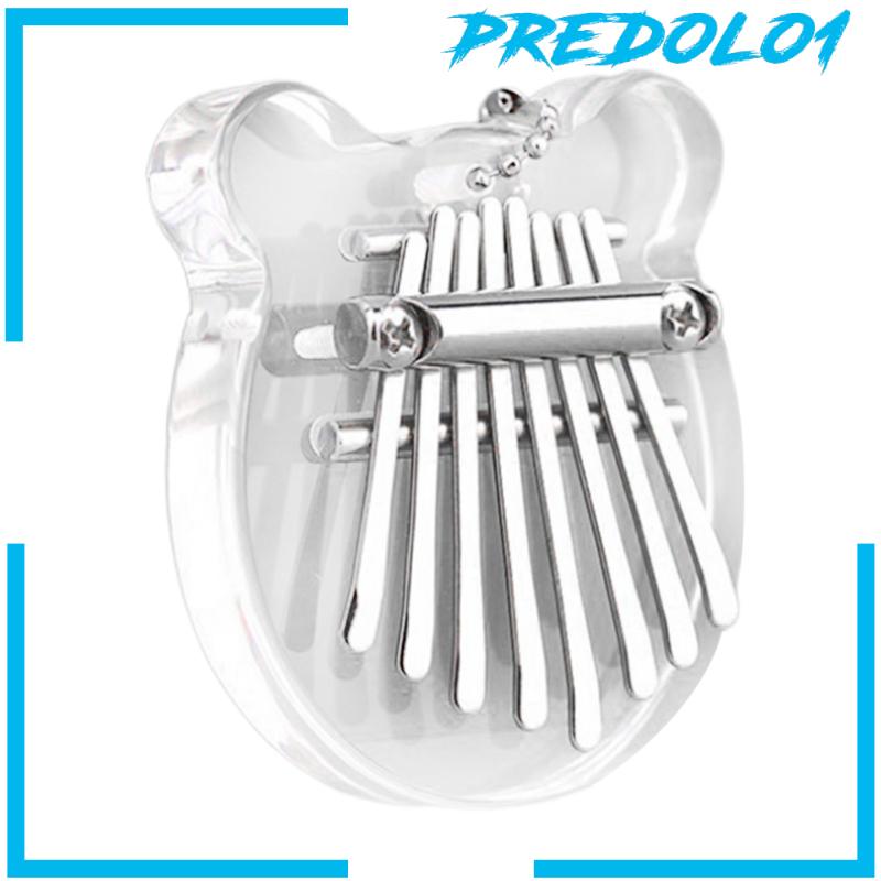Bộ Nhạc Cụ Đàn Piano 8 Phím Bằng Acrylic Dành Cho Trẻ Em (Predolo1)