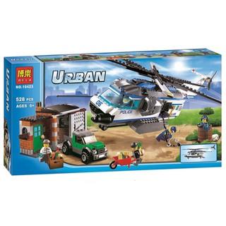 GIÁ RẺ NHẤT -Đồ chơi Lego urban 10423 – máy bay giám sát