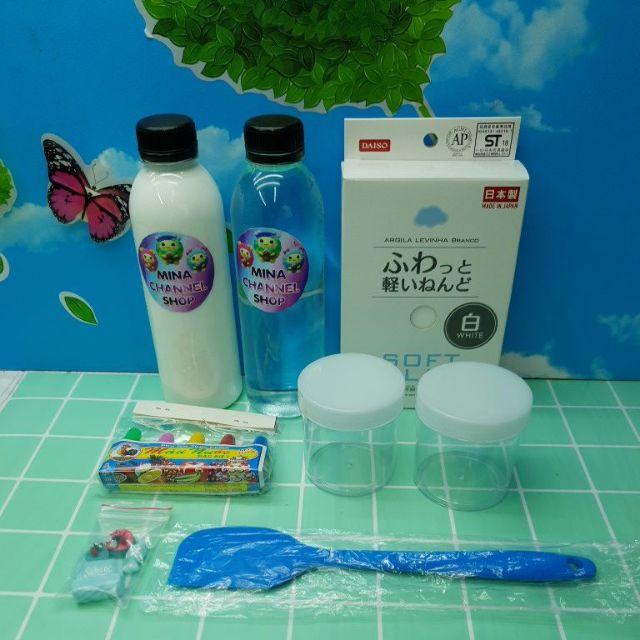 Bộ Kit Làm Slime Bơ 7 Trong 1 Đẹp Hoàn Hảo - Sự Lựa Chọn Của Các Slimer